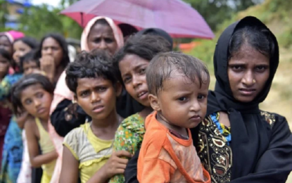 Rohingya refugees observe lonely Ramadan on remote Bangladesh island