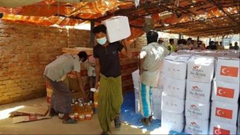 Bangladesh: Turkish agency distributes aid to Rohingya