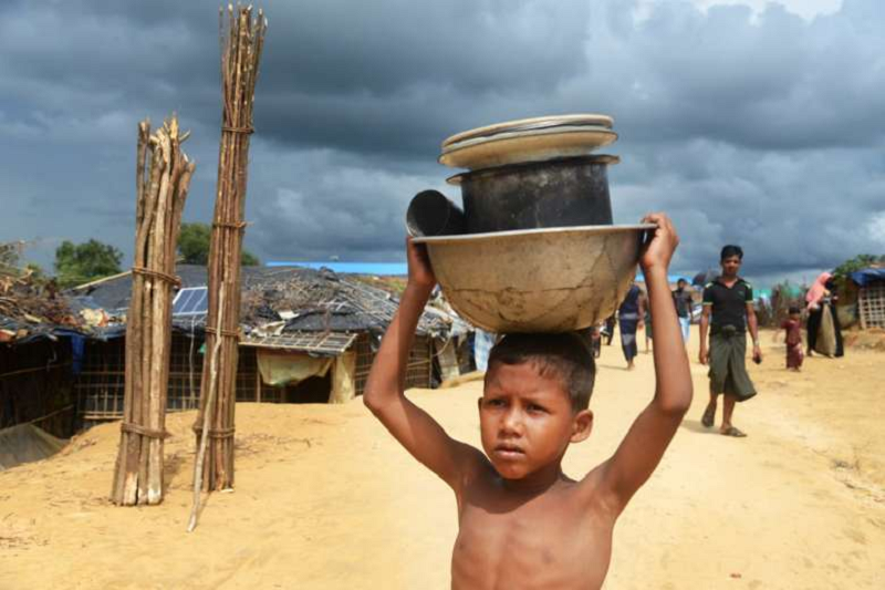 Rohingya in 'island jail' after relocation to Bhasan Char