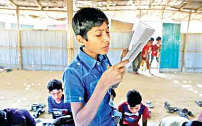 How Rohingya youth are fighting for education